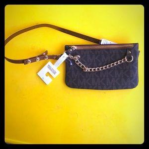Michael Kors brown belted wallet